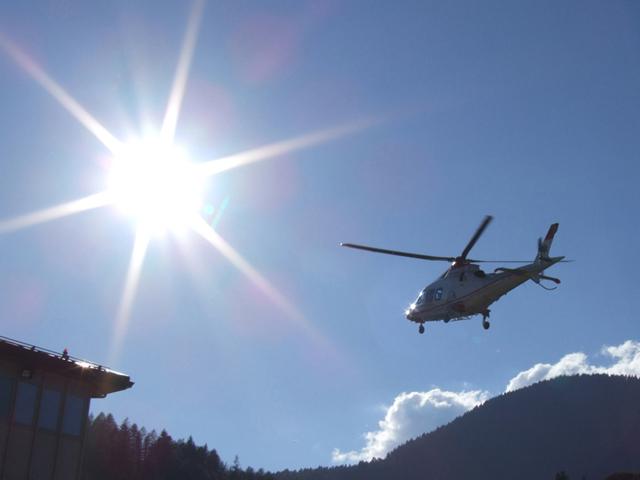 Elicottero Falco : Sicurezza soccorso
